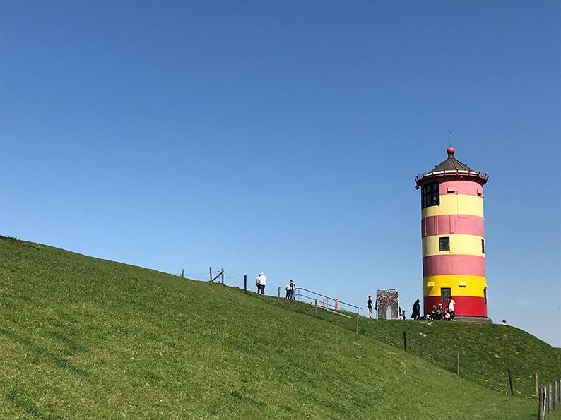 Ostfriesland, Leuchtturm Pilsum, Deutschland