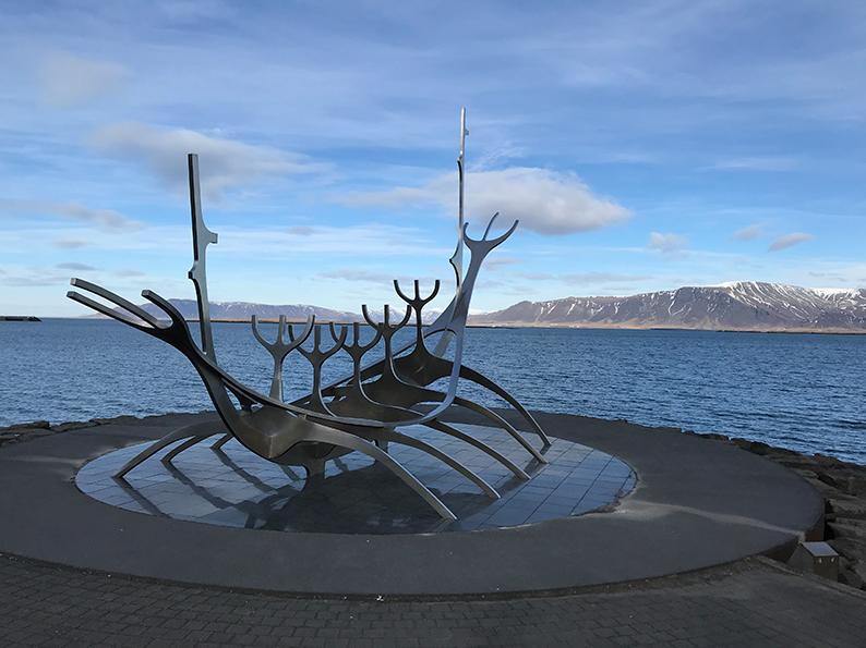 Island, Reykjavik, Polarlichter, Superjeep, Wikingerschiff