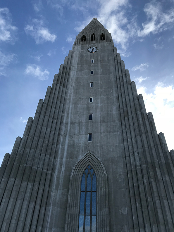 Island, Reykjavik, Polarlichter, Superjeep, Hallgrimskirkja