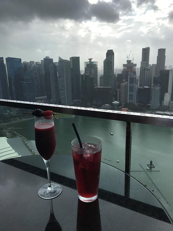 Singapur, Insta Hot Spot, CeLaVi, Marina Bay Sands