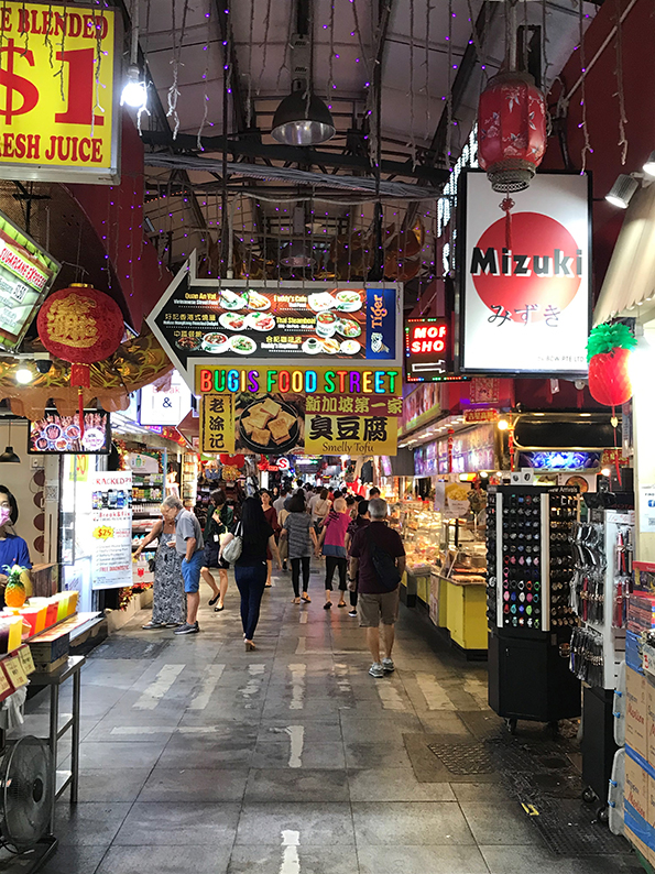 Singapur, Insta Hot Spot, Bugis Street Market
