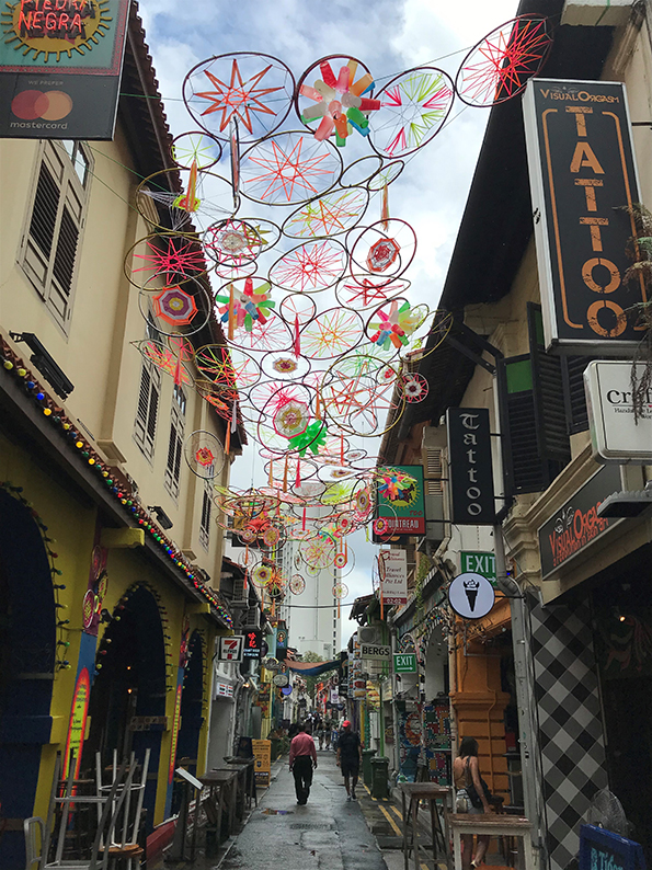 Singapur, Insta Hot Spot, Haji Lane, Kampong Glam