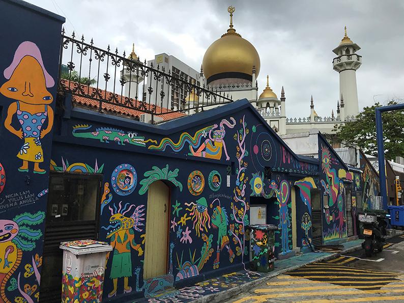 Singapur, Insta Hot Spot, Kampong Glam