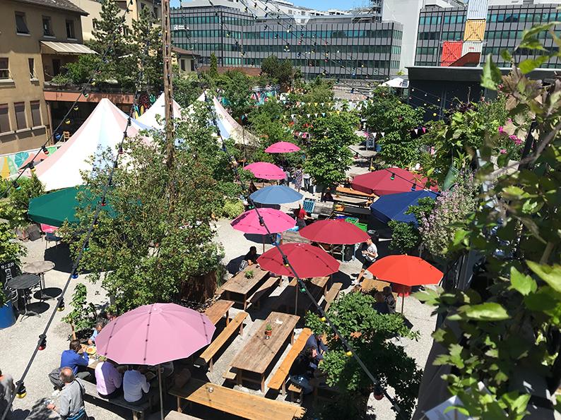 Zürich, Freundinnen-Tag, Frau Gerolds Garten, Schweiz