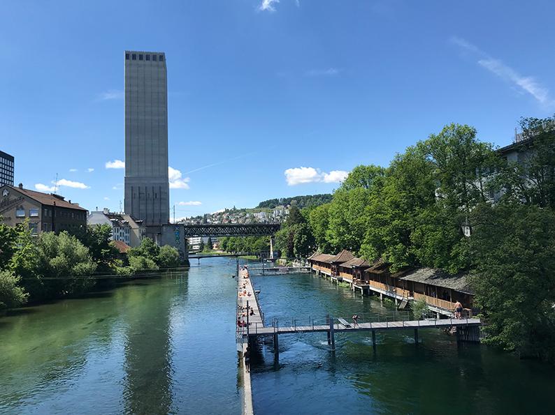 Zürich, Freundinnen-Tag, Letten Badi, Schweiz