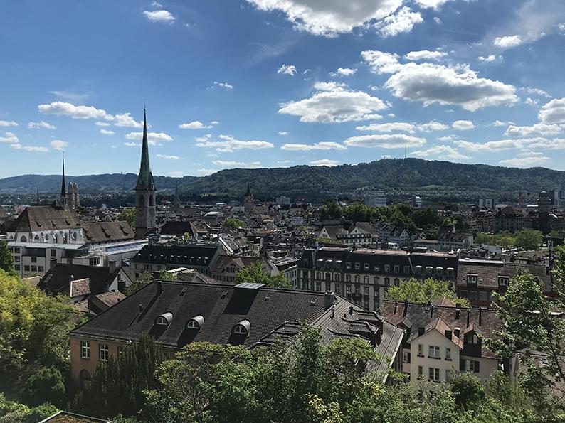 Zürich, Freundinnen-Tag, Polybahn, Schweiz