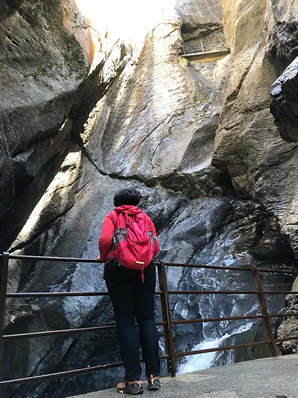 Lauterbrunnen, Berner Oberland, Schweiz, Trümmelbachfälle