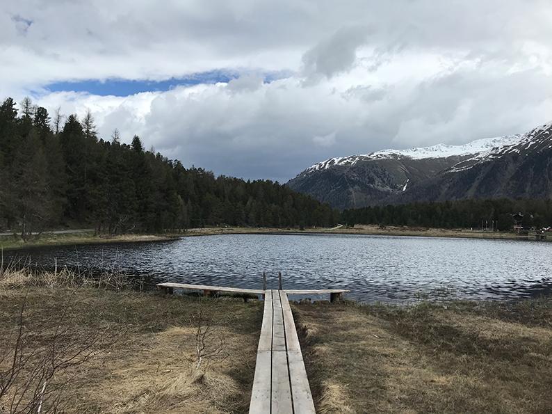 Lej da Staz, Stazersee, Engadin, Graubünden, Schweiz