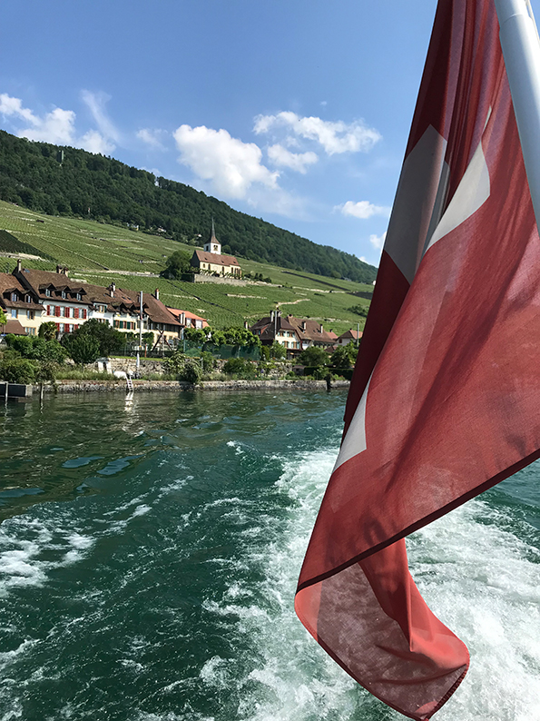 Bielersee, St. Petersinsel, Ligerz, Schweiz